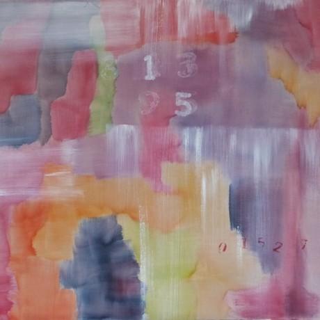 Huile sur toile 81 cm x 65 cm (25F)