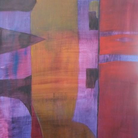 Huile sur toile 65 cm x 81 cm (25P)
