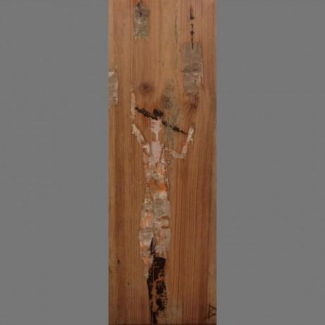 Huile sur bois 20cm x 51cm