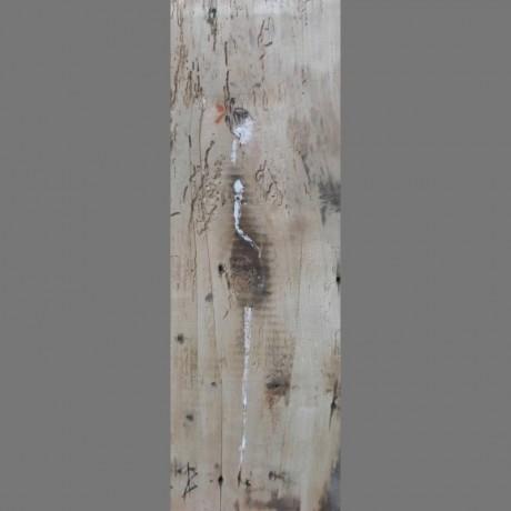 Huile sur bois