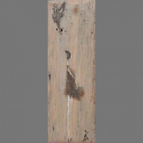 Huile sur bois 18 x 53 cm Vendue