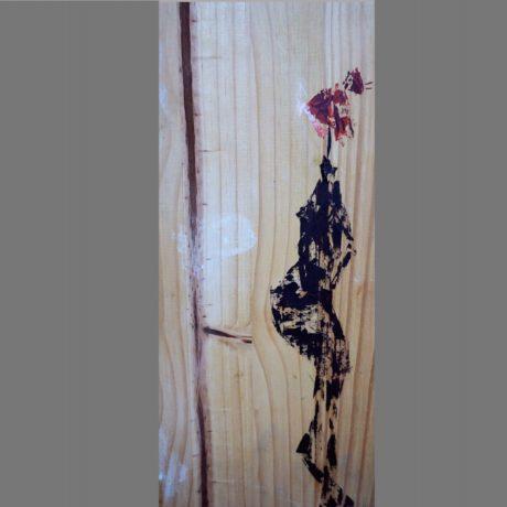 huile sur bois 20 x 40 cm